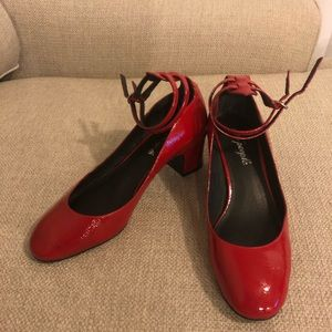 Free People Mary Jane heels